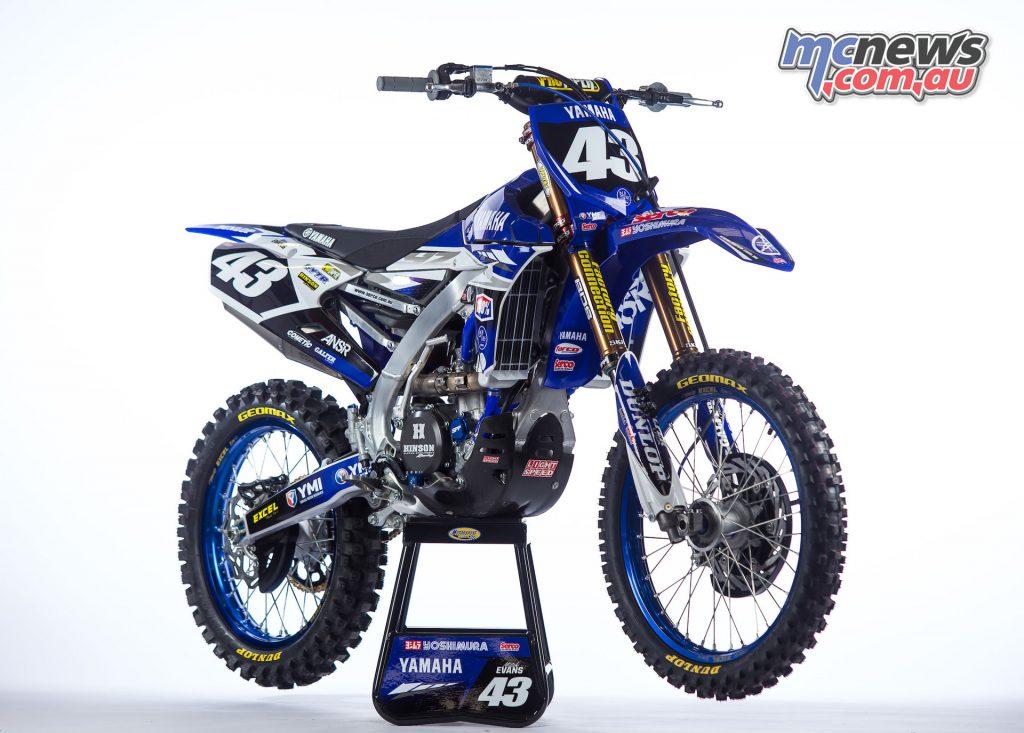 Mitch Evans' 2017 Yamaha YZ250F