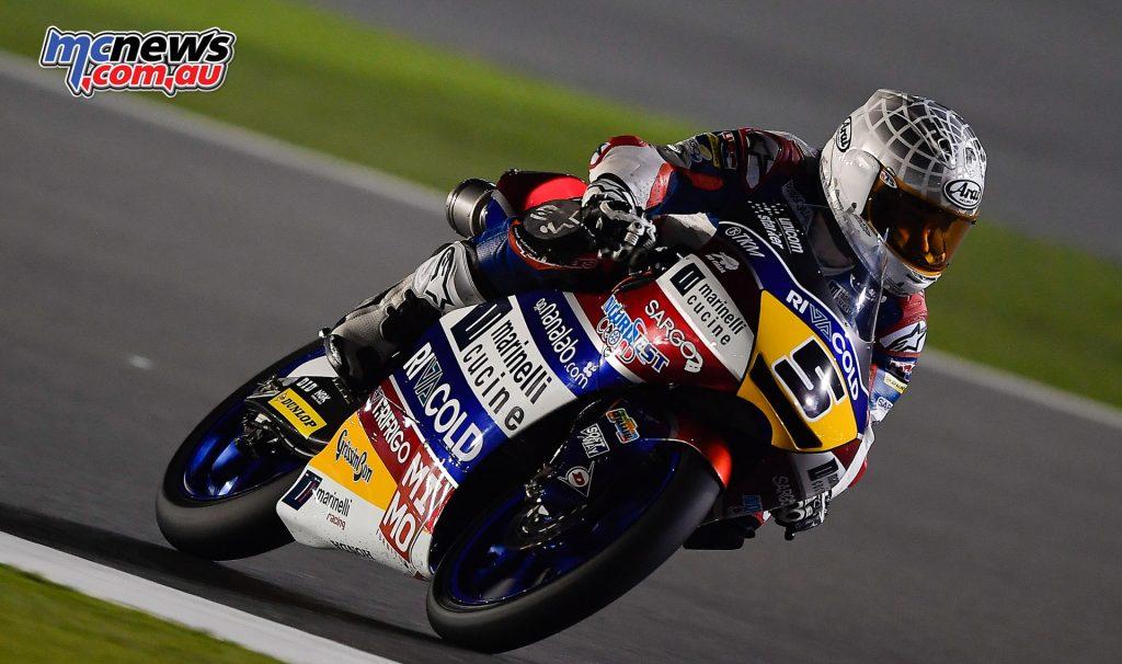 Moto3 Qatar Test - Romano Fenati