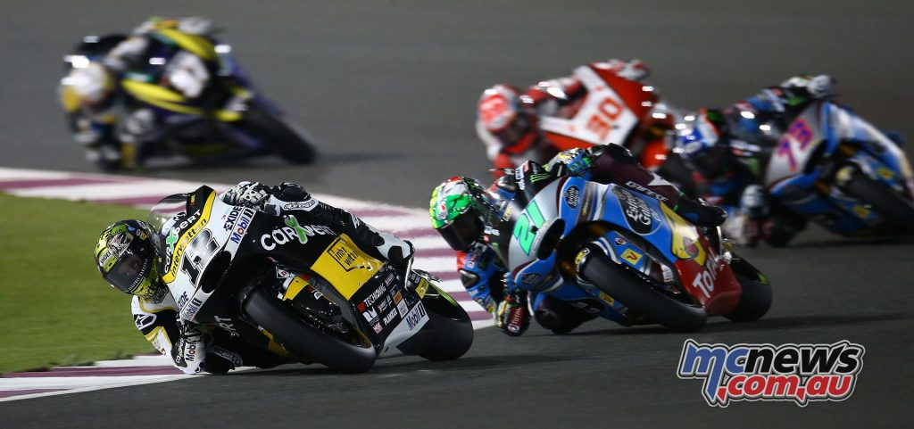 Tom Luthi took third in Argentina and Qatar and will be looking to improve on those results to close the championship gap