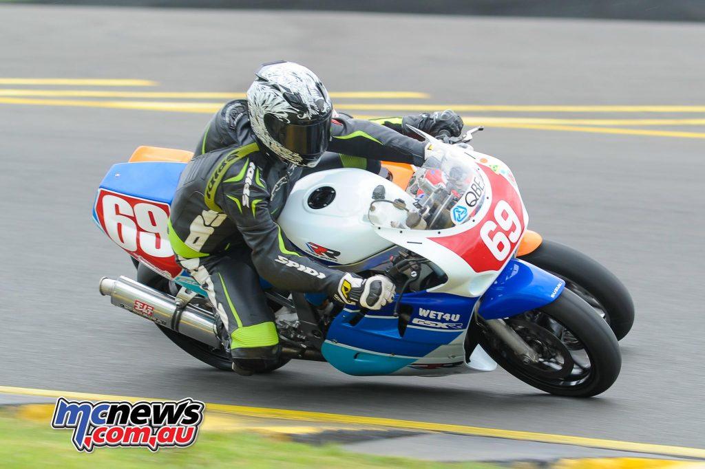 Paul Grant Mitchell on the Suzuki GSXR1100
