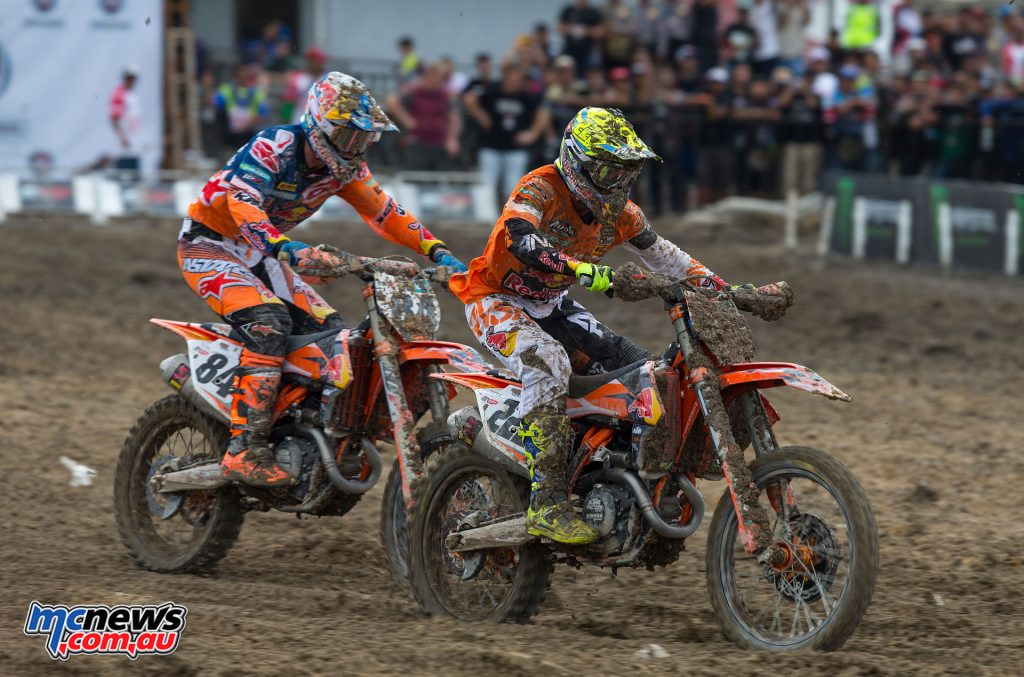 Tony Cairoli, Jeffrey Herlings - Image: Ray Archer