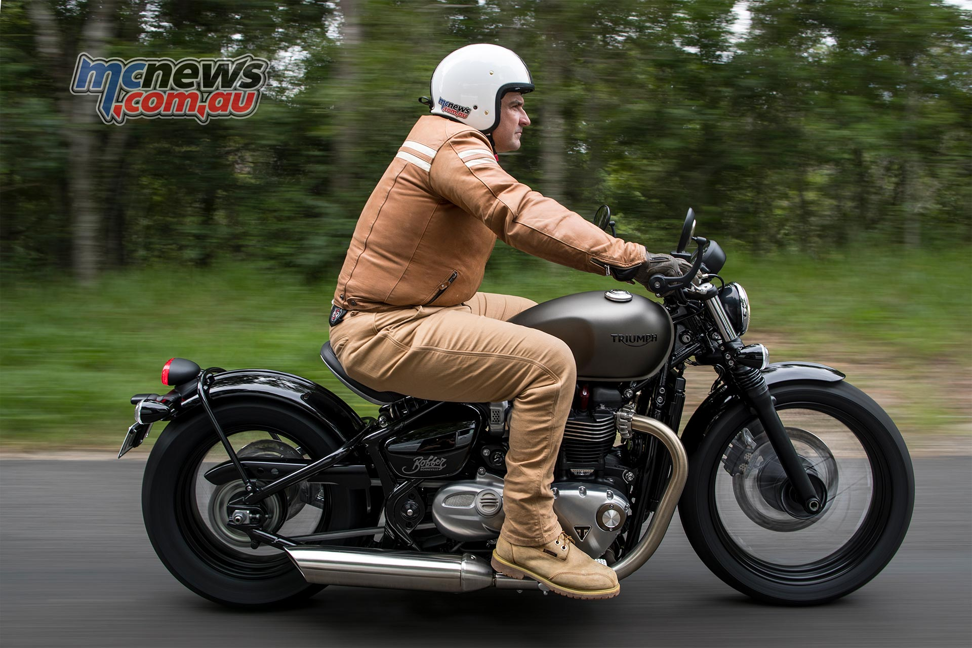 Triumph Bobber Review Does The Show Have Go Motorcycle News Sport And Reviews