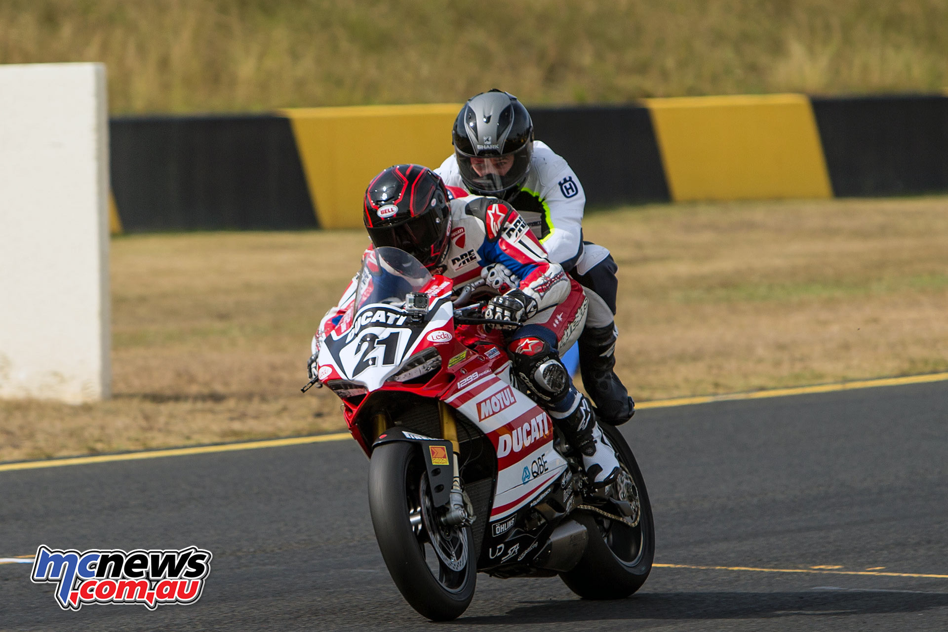Win a pillion ride with legends Steve Martin or Troy Bayliss at the ASBK Wakefield round.