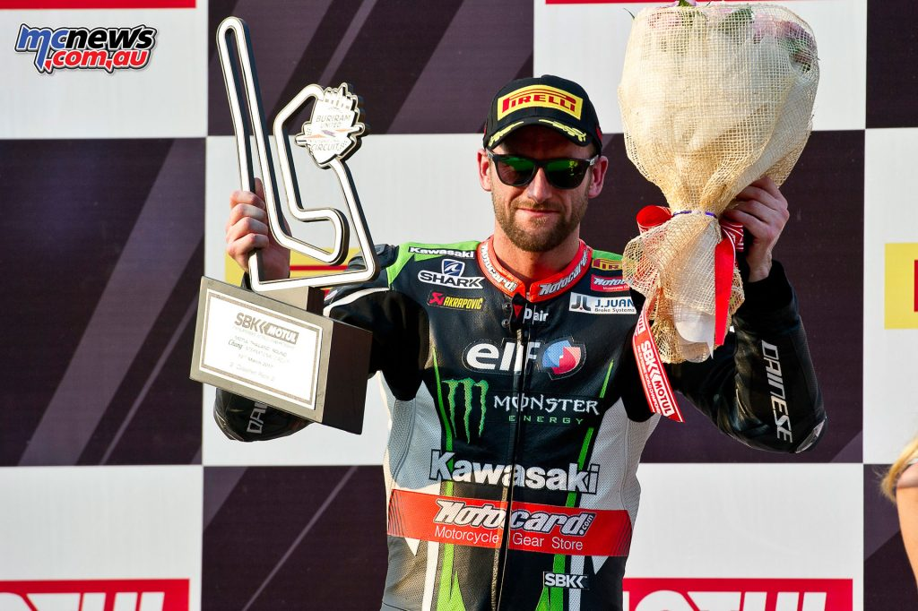WorldSBK 2017 - Thailand - Tom Sykes