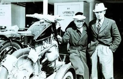 Mechanic and Jock West - 1937