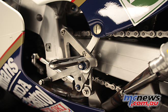 1985 Honda NSR500 as ridden by Freddie Spencer to win the Championship in 1985.