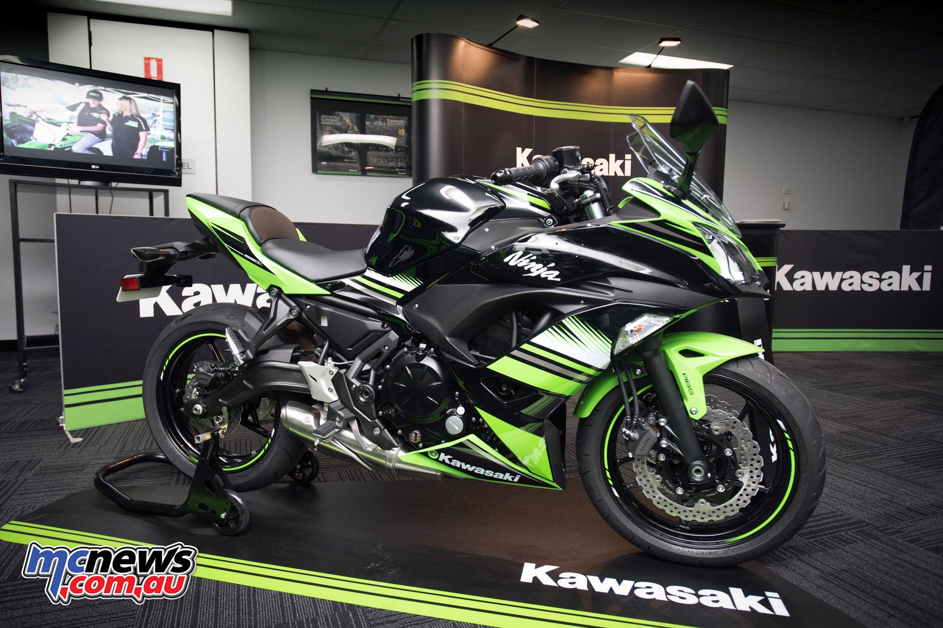 Kawasakis 2017 Z650 Ninja 650 Lams Review Mcnewscomau