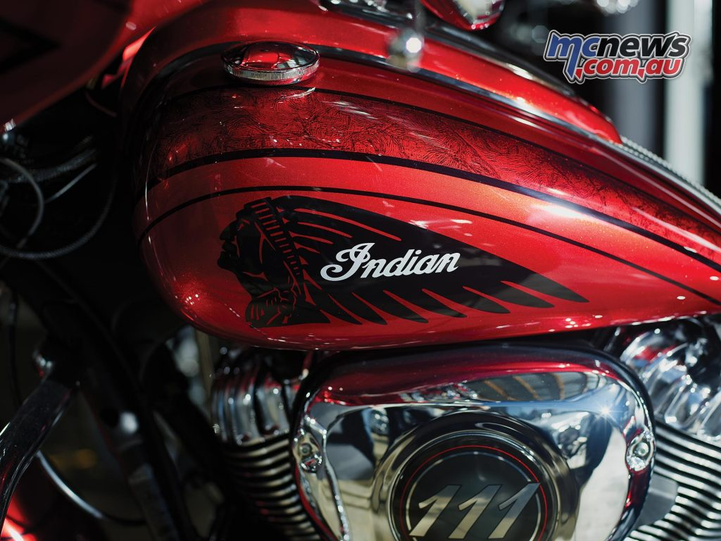 Indian Chieftain Elite with custom paint