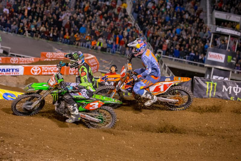 Eli Tomac and Ryan Dungey - Photo: Feld Entertainment, Inc.