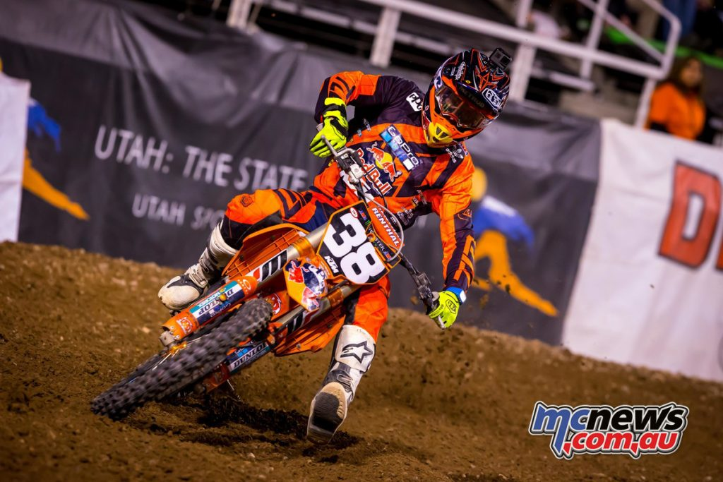 Ryan Dungey - Image by Simon Cudby