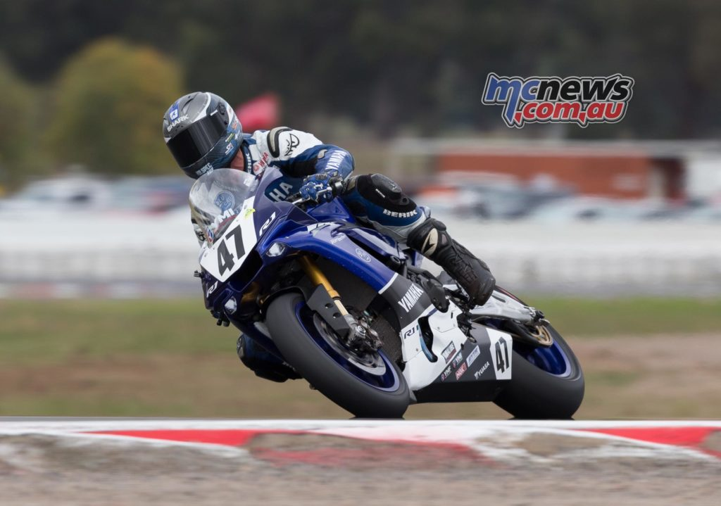 Wayne Maxwell at Winton today - Image by Andrew Gosling