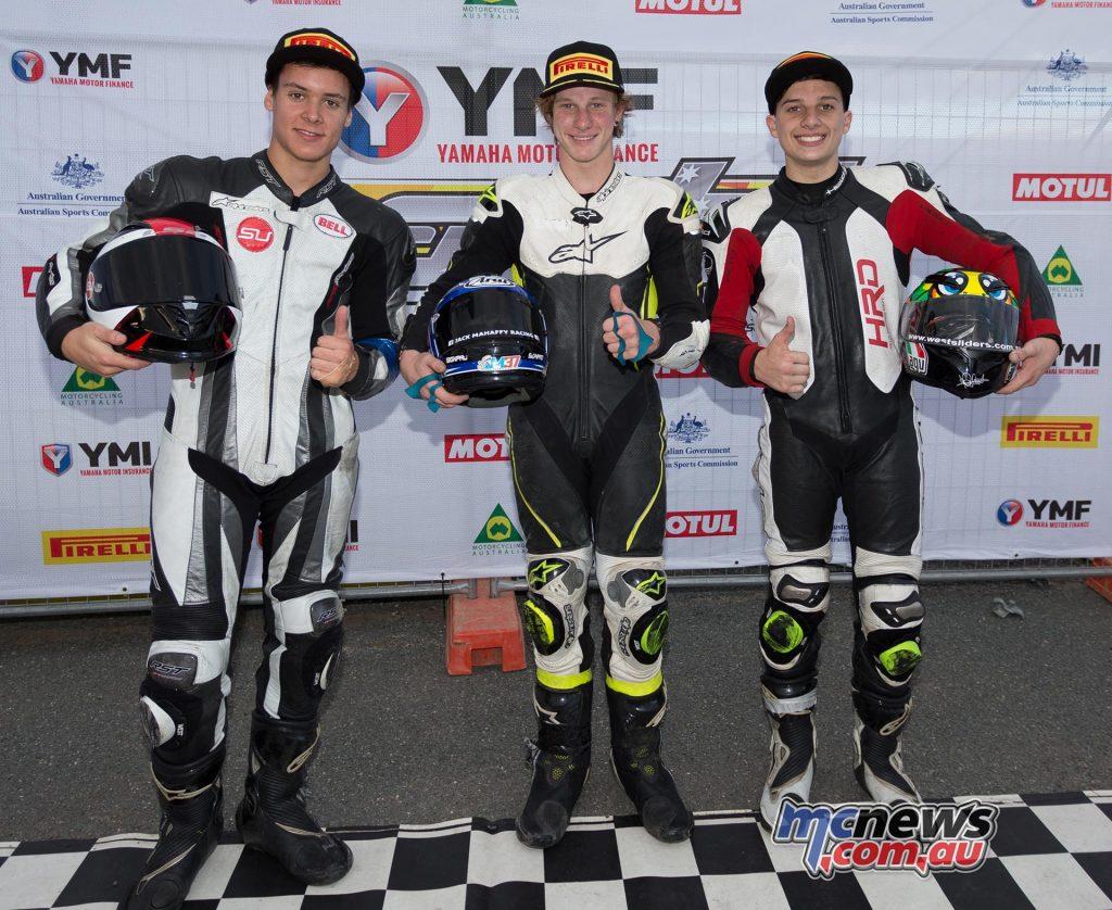 Yamaha R3 Cup Race One