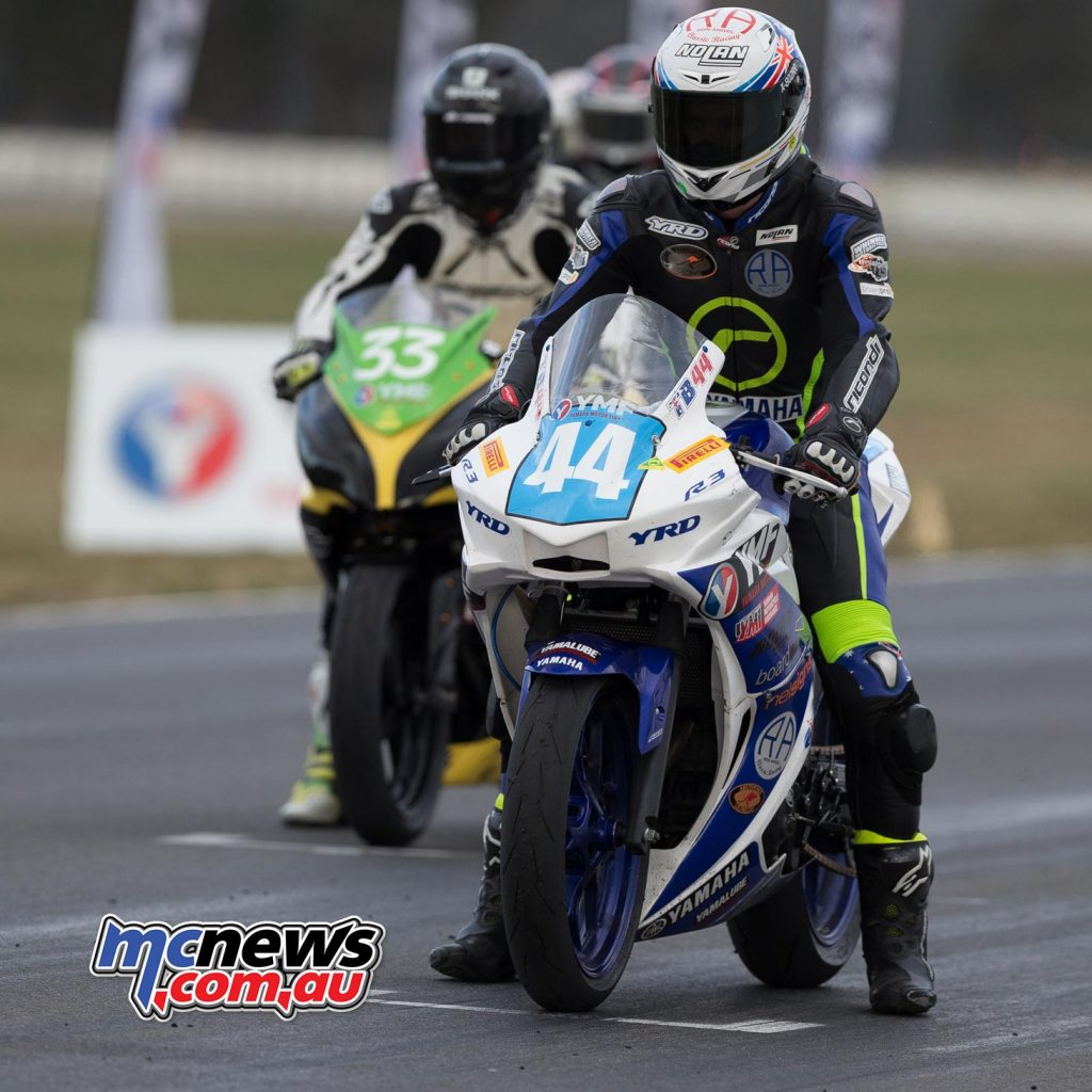 Tom Bramich on the grid at Winton - Image by TBG