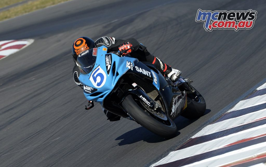 ASBK Winton Test - Day 1 - Ted Collins