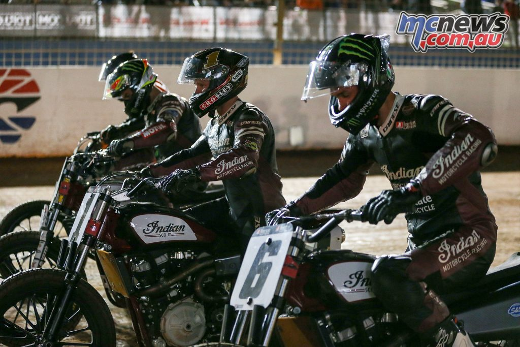 Bryan Smith, Jared Smith and Brad Baker - American Flat Track