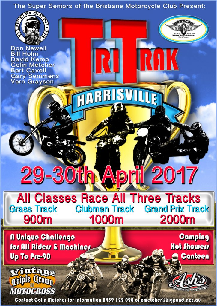 2017 Brisbane Motorcycle Club's Tri-Trak Spectacular