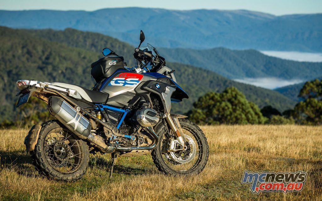 Mark Wills took the BMW R 1200 GS Rallye X on the two-day Australian launch