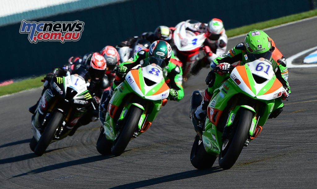 Ben Currie leads at Donington