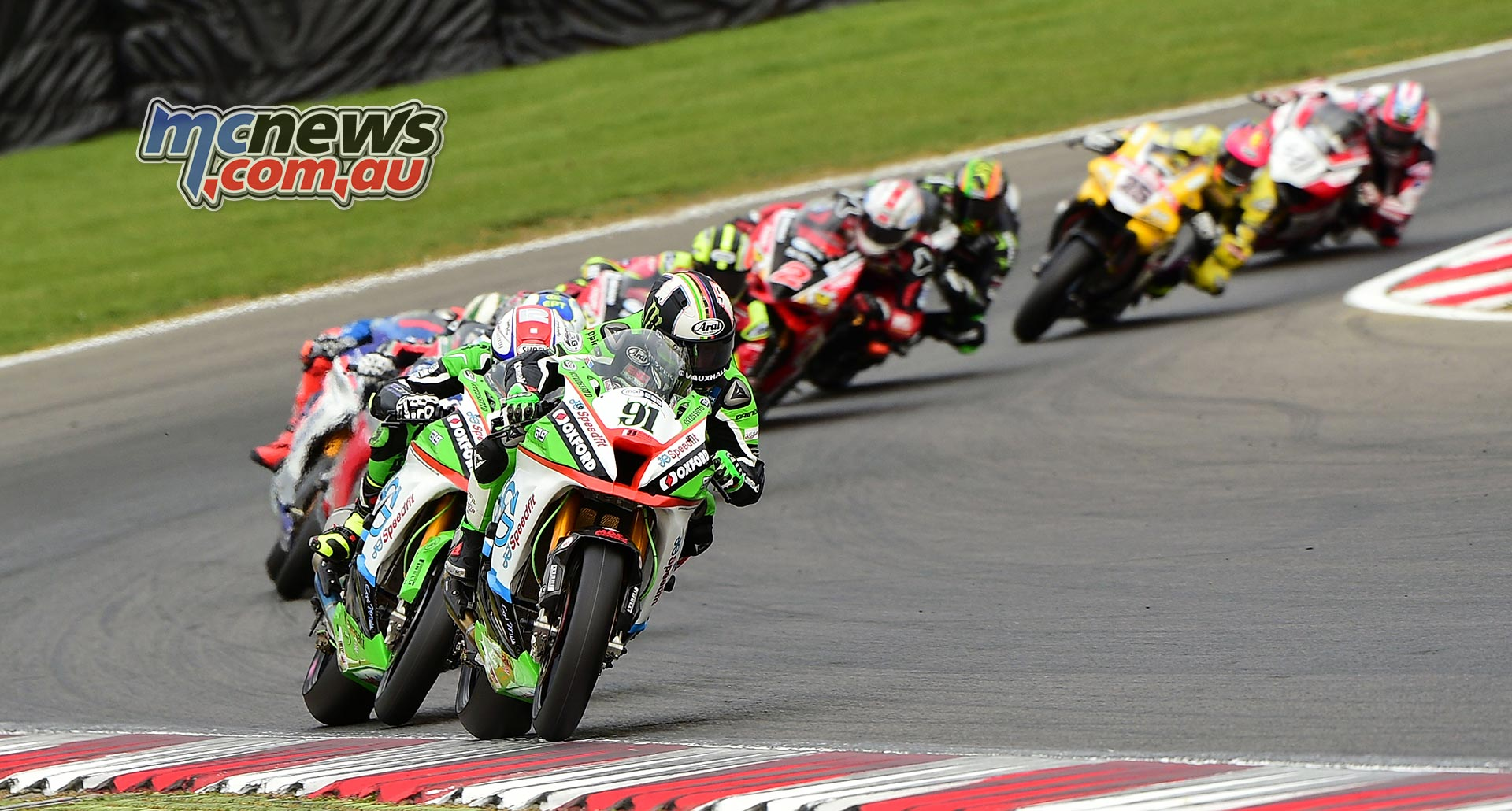 Leon Haslam at Brands Hatch