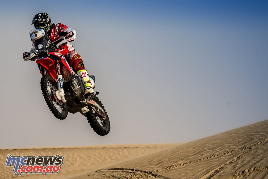 Paulo Goncalves - Overall second after Stage 2 of the Abu Dhabi Desert Challenge