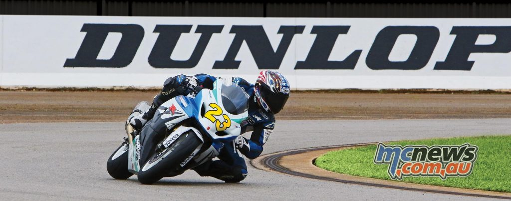 """Rich Conicelli, senior development test rider at the Dunlop Proving Grounds, """"The Q3+ lets you brake later for a turn, carry more lean angle through the apex, and get on the throttle sooner at the exit... it explains why the Sportmax Q3+ is a full second faster than the Q3 on the racetrack.*"""