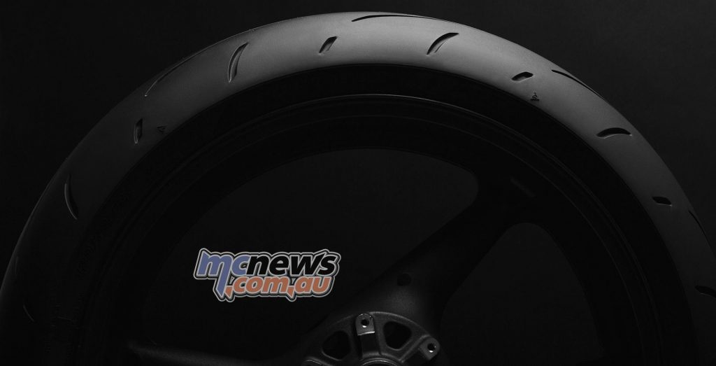 Dunlop's Sportmax Q3+ featuring a new silica-enriched center tread