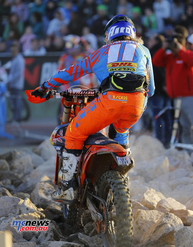 Daniel Sanders in action recently in the World Enduro Championship