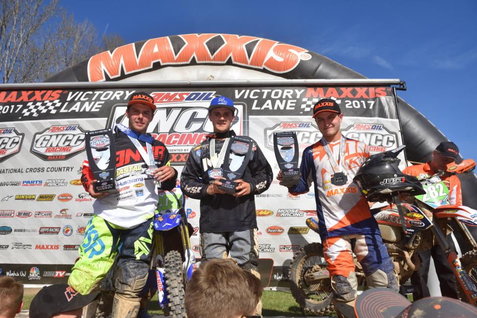 2017 GNCC - Steele Creek - XC2 250 Pro Podium - Image: Ken Hill