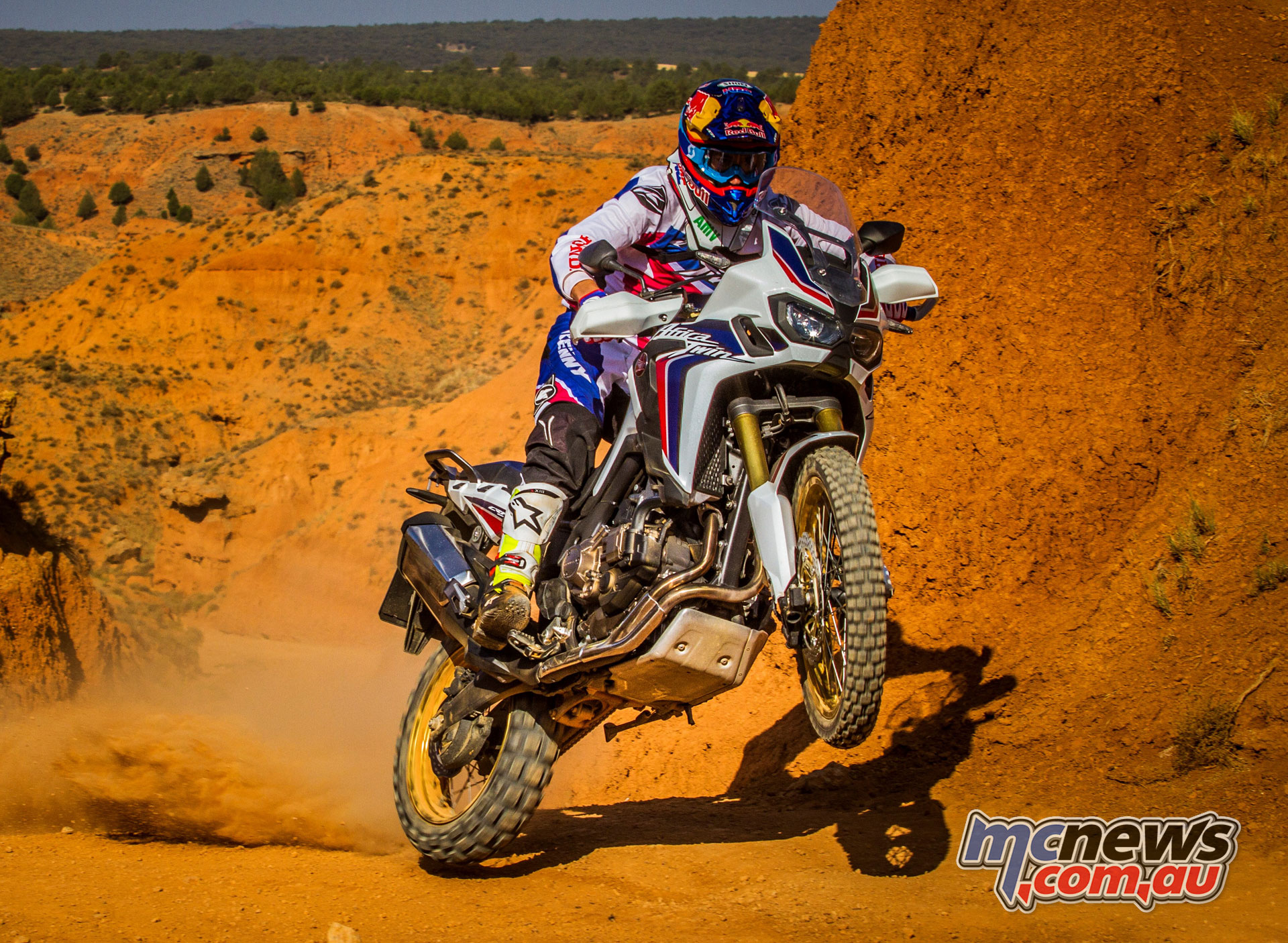 Honda Africa Twin - ridden by Joan Barreda