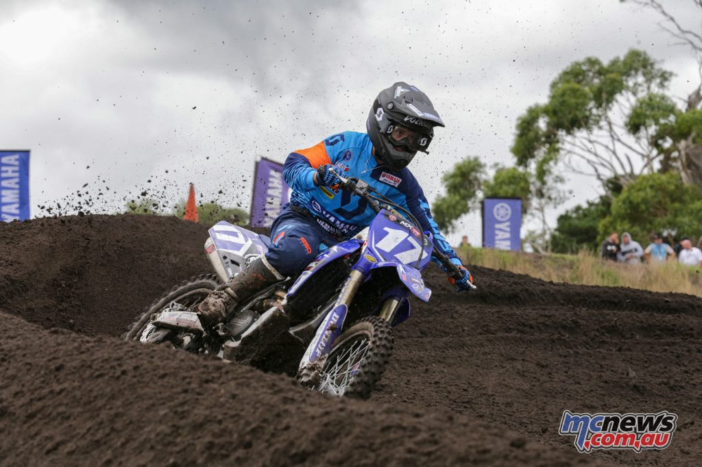 Cooper Pozniak won the season opener and leads the MXD points tally into Appin