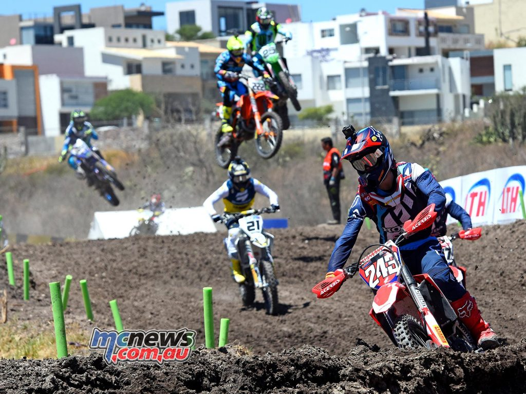 Tim Gajser leads in Mexico