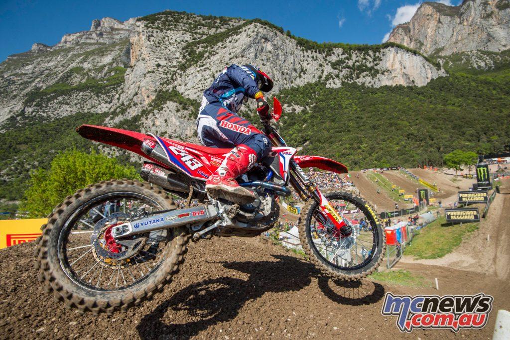Tim Gajser retains the championship lead leaving Trentino