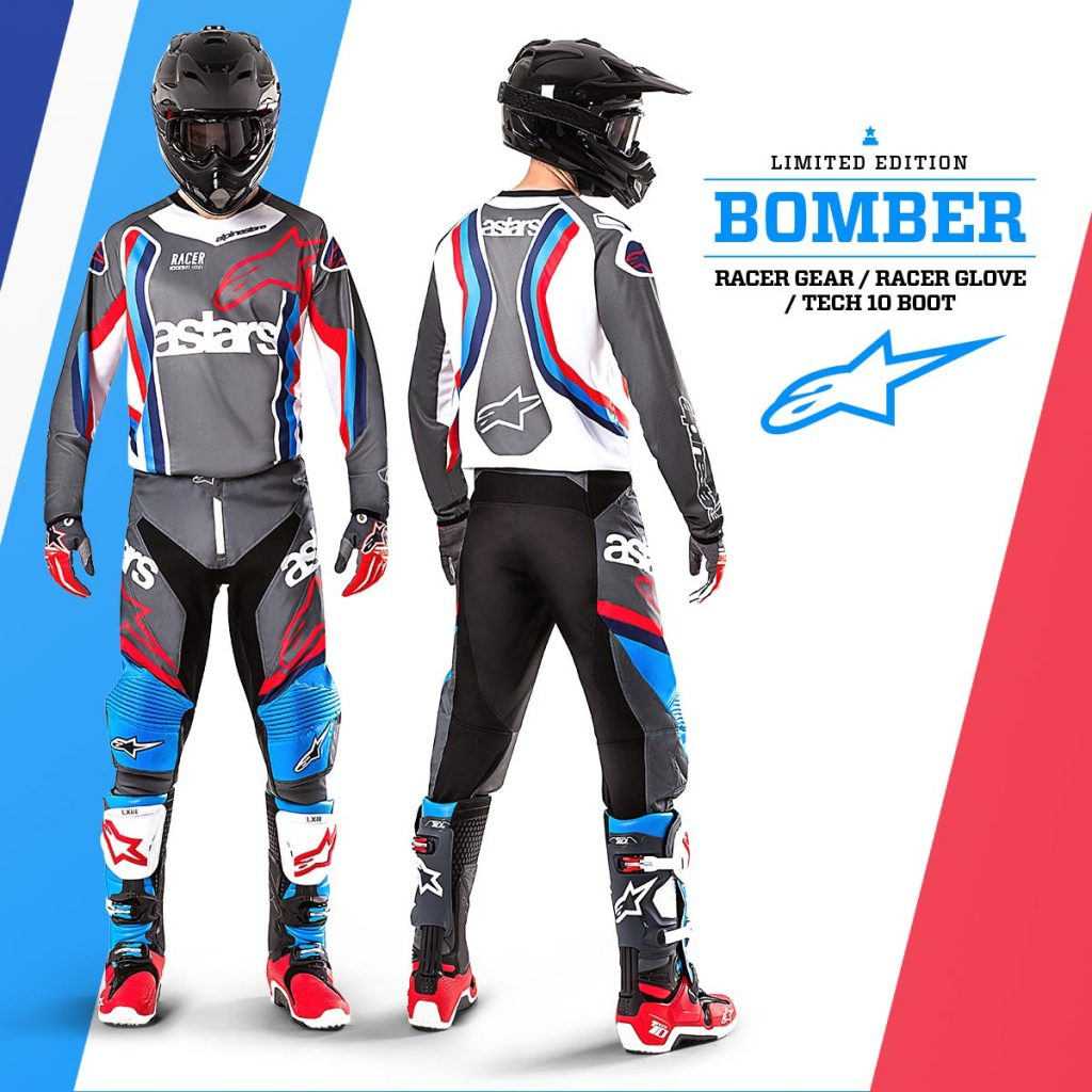 Alpinestars Limited Edition 'Bomber' Gear and Tech 10 Boots