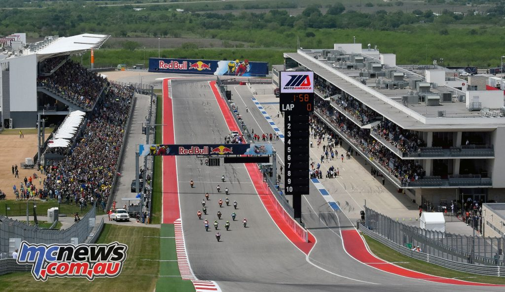 The Circuit of the Americas during the 2016 MotoGP round