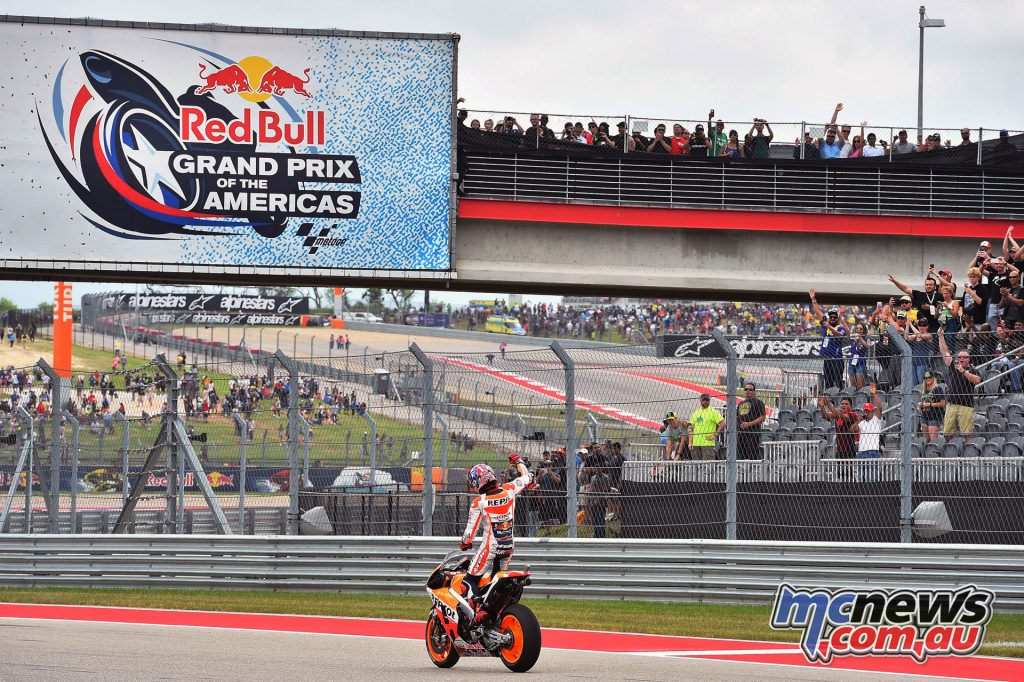 Marc Marequez at the Circuit of the Americas in 2016Marc Marequez at the Circuit of the Americas in 2016
