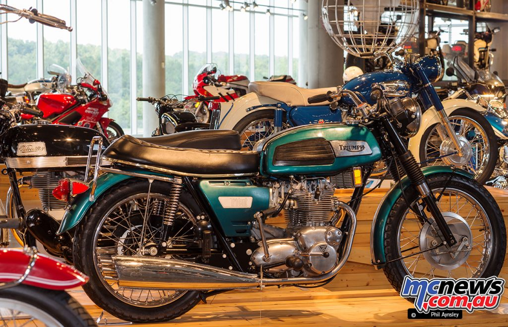 The Barber Vintage Motorsports Museum - 1969 Triumph 750 Trident T150