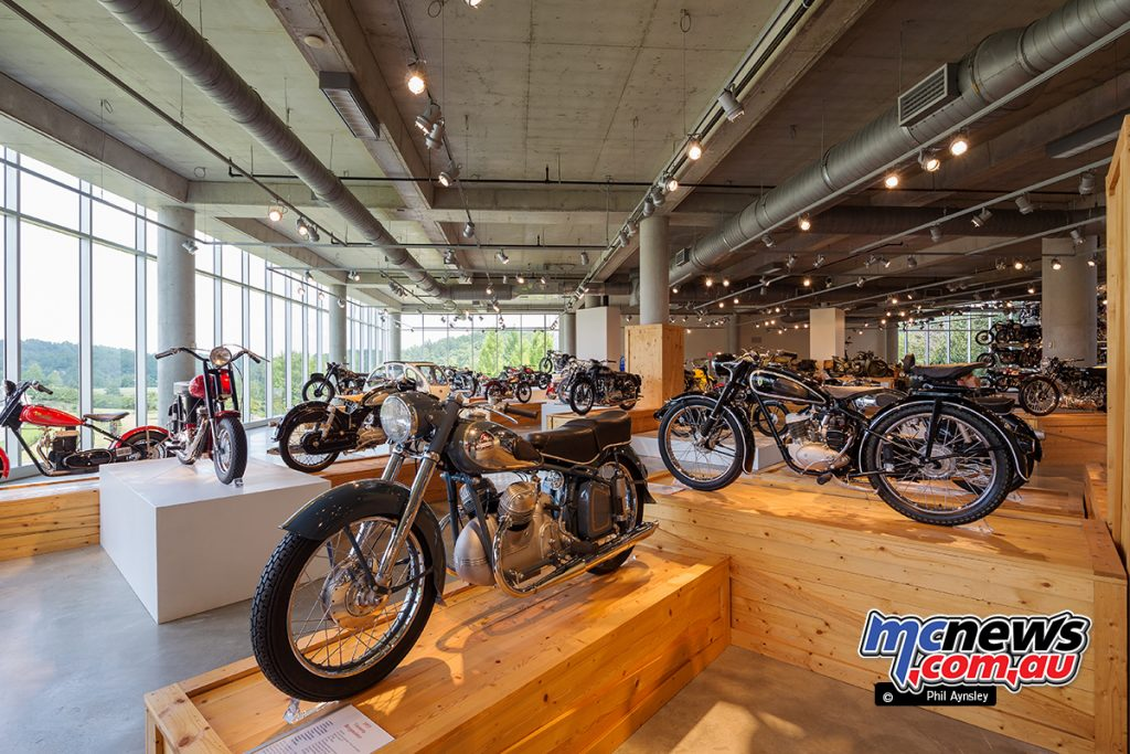 The Barber Vintage Motorsports Museum - Japanese machinery