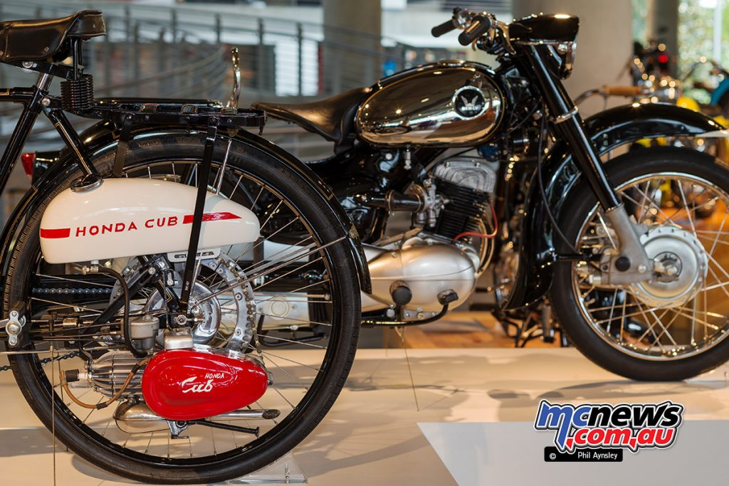 The Barber Vintage Motorsports Museum - Honda Cub F 58cc