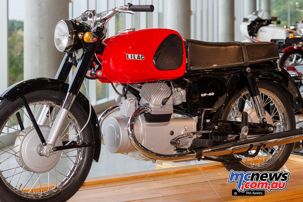 The Barber Vintage Motorsports Museum - Lilac CF 40
