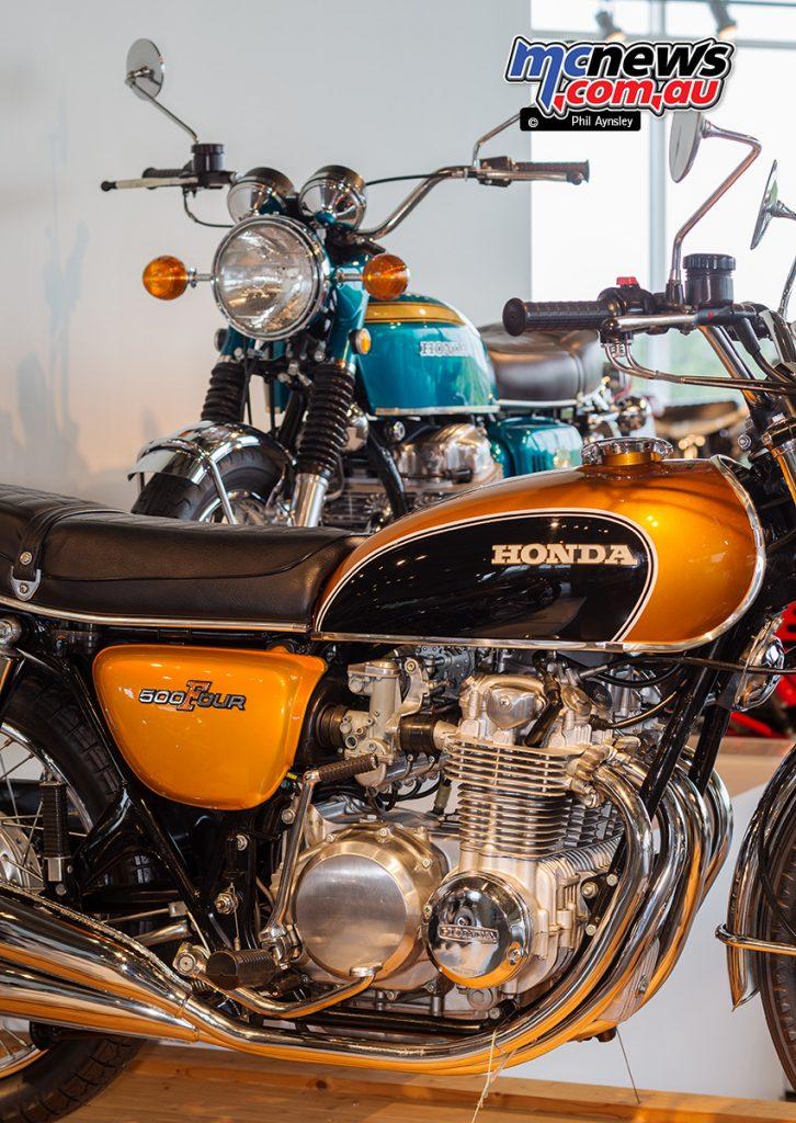 The Barber Vintage Motorsports Museum - Honda CB550
