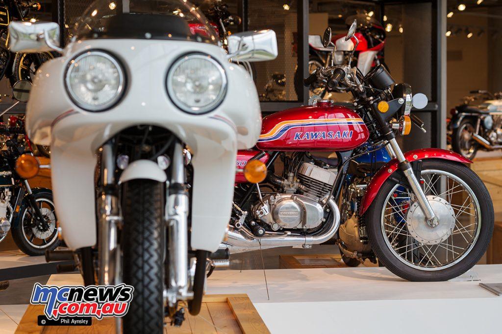 The Barber Vintage Motorsports Museum - Kawasaki S2 Mach II 350