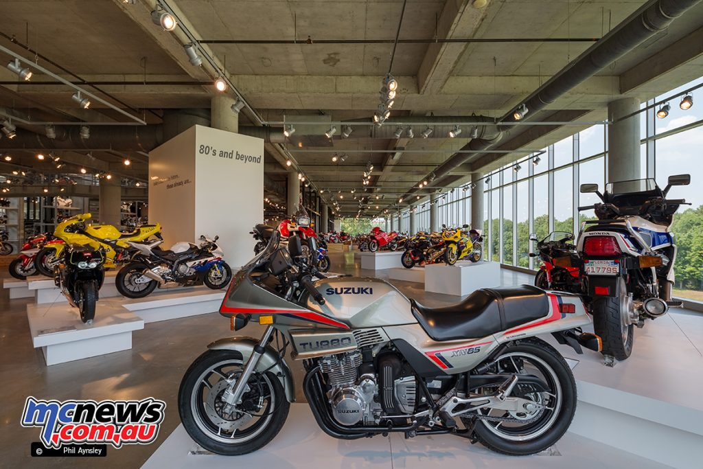 The Barber Vintage Motorsports Museum - The full house of Japanese turbos from the early '80s