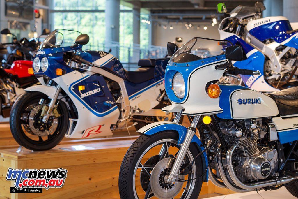 The Barber Vintage Motorsports Museum - Suzuki line-up