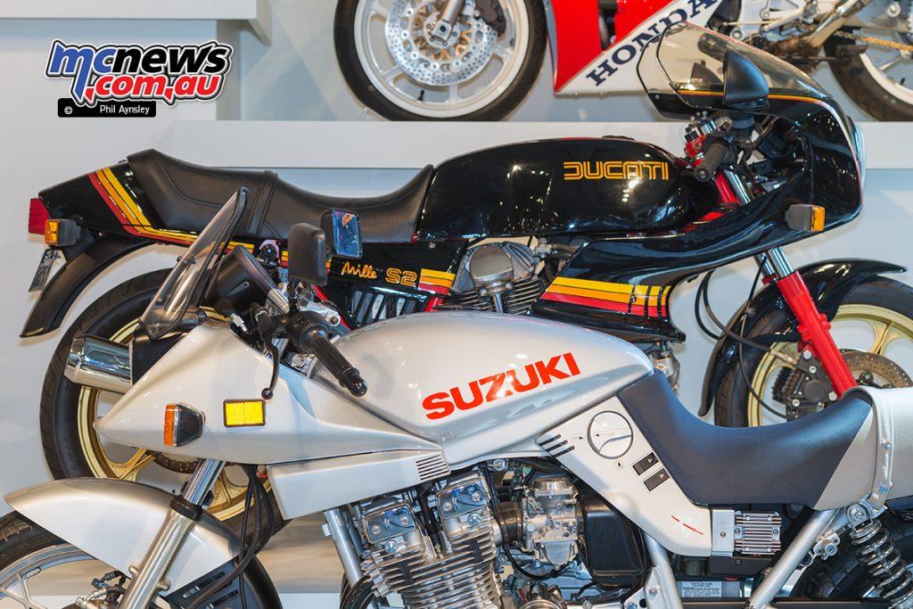 The Barber Vintage Motorsports Museum - Ducati Mille S2, Suzuki GS1000S Katana