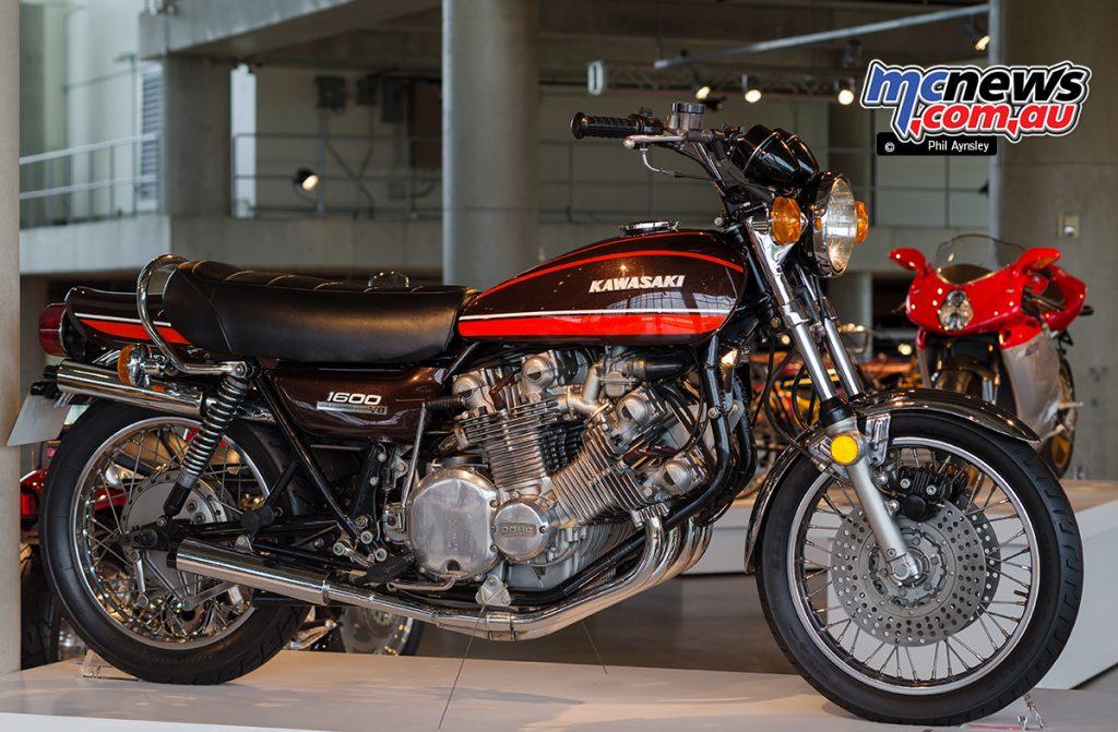 The Barber Vintage Motorsports Museum - Kawasaki Z1 based 1600cc V8