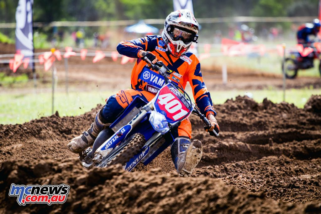 Queensland GYTR Yamaha Junior Racing's Levi Rogers - Image: Zhane Dunlop