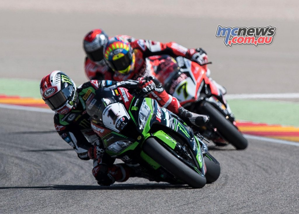 Rea leads Davies and Melandri at Aragon - Image by GeeBee