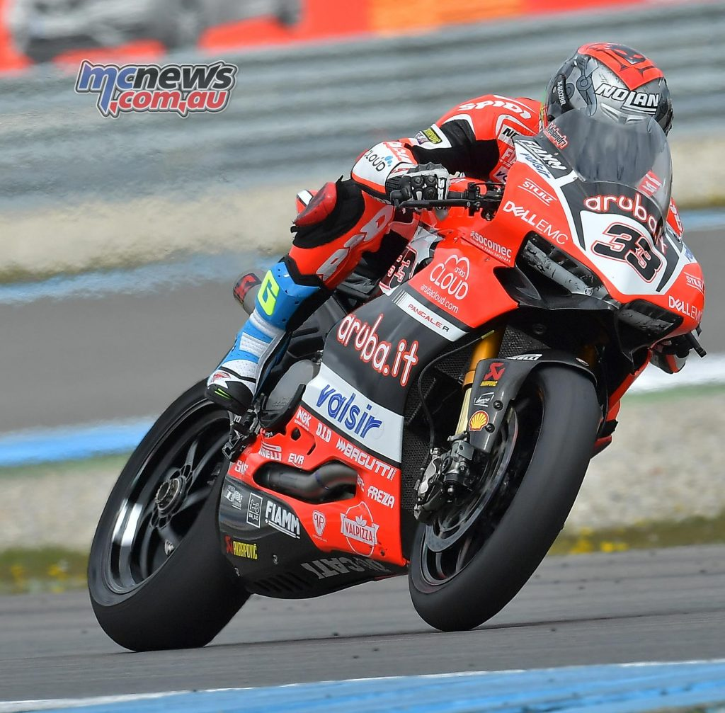 Melandri will no doubt hope to once again step onto the podium in Imola