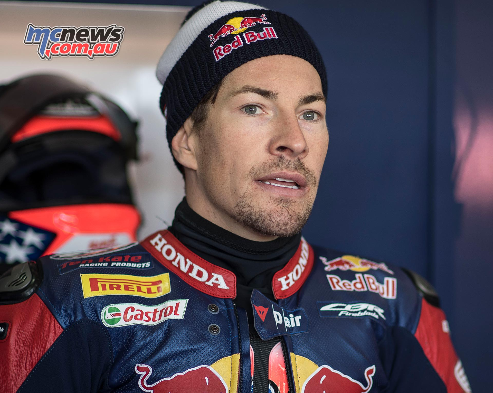 Nicky Hayden pictured earlier this year in Aragon