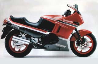 1988 Kawasaki GPX600R